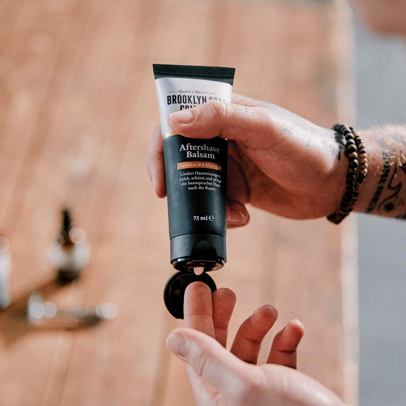 Rasurbrand verhindern: Aftershave Balsam Brooklyn Soap Company