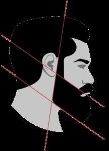 Konturen 3-Tage-Bart und Vollbart